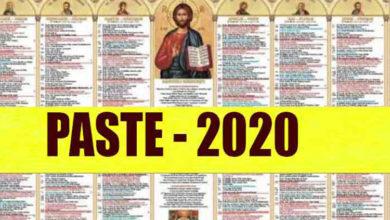 Photo of Când pică PAȘTELE în 2020. Data a fost STABILITĂ!