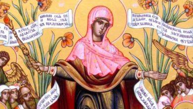 """Photo of Rugăciune către Preasfânta Născătoare de Dumnezeu înaintea icoanei sale """"Bucuria tuturor necăjiţilor"""""""