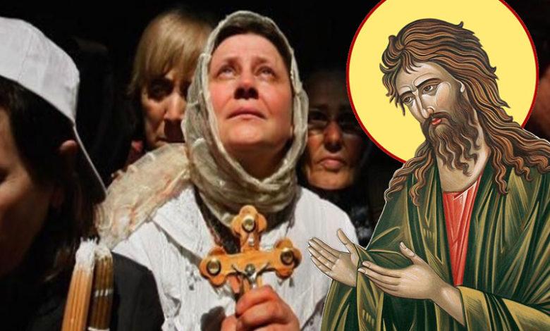 Rugăciune către Sfântul Ioan Botezătorul