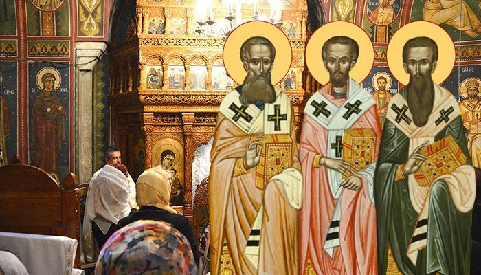 Rugăciune Sfinții 3 Ierarhi