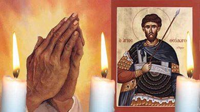 Photo of Rugăciune 17 februarie – Repetă azi Rugăciunea Sfântului Teodor Tiron pentru luminarea minții și sufletului