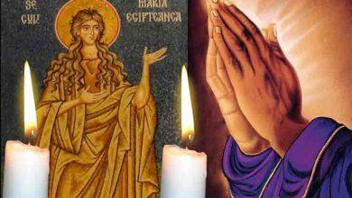 Photo of Rugăciune 1 aprilie – Citește azi Rugăciunea scurtă la Maica Maria Egipteanca, protectoarea familiei, pentru vindecarea celor bolnavi și protejarea celor sănătoși