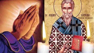Photo of Rugăciune 11 martie. Spune azi Rugăciunea Sfântului Sofronie, protectorul familiei în vremuri grele