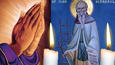 Photo of Rugăciune 29 martie – Citește azi Rugăciunea scurtă din Duminica Sfântului Ioan Scărarul, pentru însănătoșire grabnică și alungarea bolilor