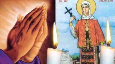 Photo of Citește Rugăciunea scurtă către Sfânta Muceniță Filofteia la vreme de boală pentru vindecare