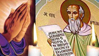 Photo of Rugăciune 10 aprilie – Citește azi, Rugăciunea scurtă la Sfântul Maxim Protectorul celor bolnavi, pentru a aduce vindecarea și ferirea de necazuri grele
