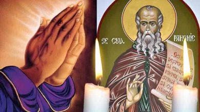 Photo of Rugăciune 14 aprilie – Citește azi, Rugăciunea scurtă a Sfântului Pahomie Vindecătorul pentru sănătate și vindecarea de boli grele