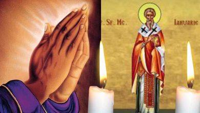 Photo of Rugăciune 21 aprilie – Citește azi, Rugăciunea scurtă a Sfântului Mucenic Ianuarie, pentru protejarea familiei de boală și necazuri