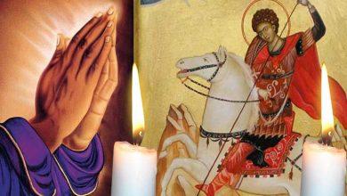 Photo of Rugăciune 23 aprilie – Citește azi Rugăciunea scurtă a Sfântului Gheorghe pentru sănătate și îndepărtarea necazurilor