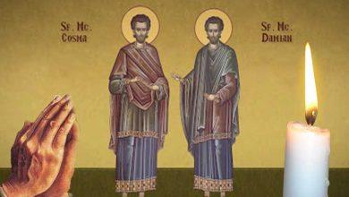 Photo of Citește azi Rugăciunea Sfinților Mucenici Doctori fără de arginți pentru a alunga boala și pentru a aduce vindecarea