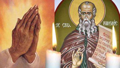 Photo of Rugăciune 15 Mai – Citește azi, Rugăciunea scurtă a Sfântului Pahomie cel Mare, pentru iertarea păcatelor și vindecare grabnică