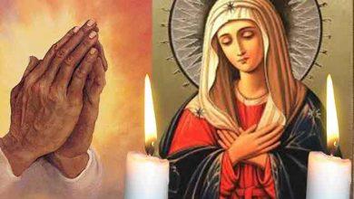 Photo of Citește azi Rugăciunea scurtă a Maicii Domnului pentru a fi ferit de rele și necazuri